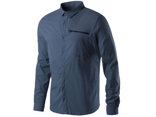 Houdini Waft Shirt Herren tide blue